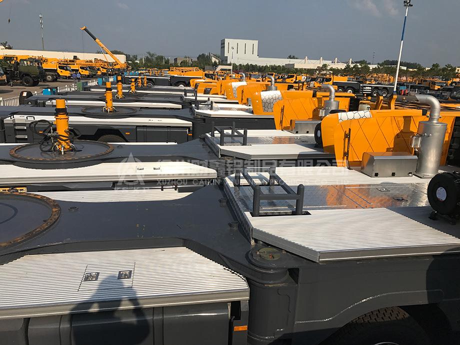 Caixin Aluminum alloy platform